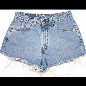 True Vintage Levis Womens Shorts